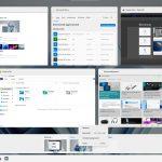 Windows 11 - Build 21996 - Nuova Visualizzazione attività e desktop virtuali con tema chiaro