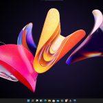 Windows 11 - Build 21996 - Nuovo Action Center tema scuro