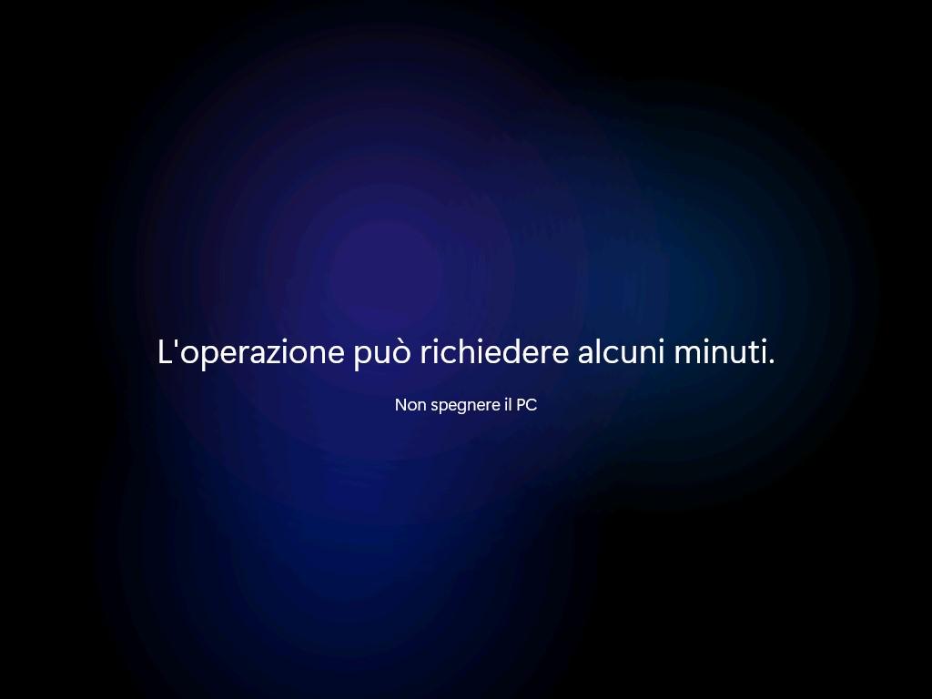 Windows 11 - Nuovo messaggio di benvenuto