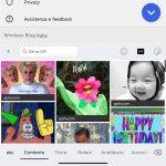 Microsoft SwiftKey Beta per Android - Nuovo selettore GIF ed emoji