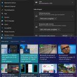Windows 11 Build 22000.51 - Windows Snap - Opzioni per l'affiancamento finestre in verticale