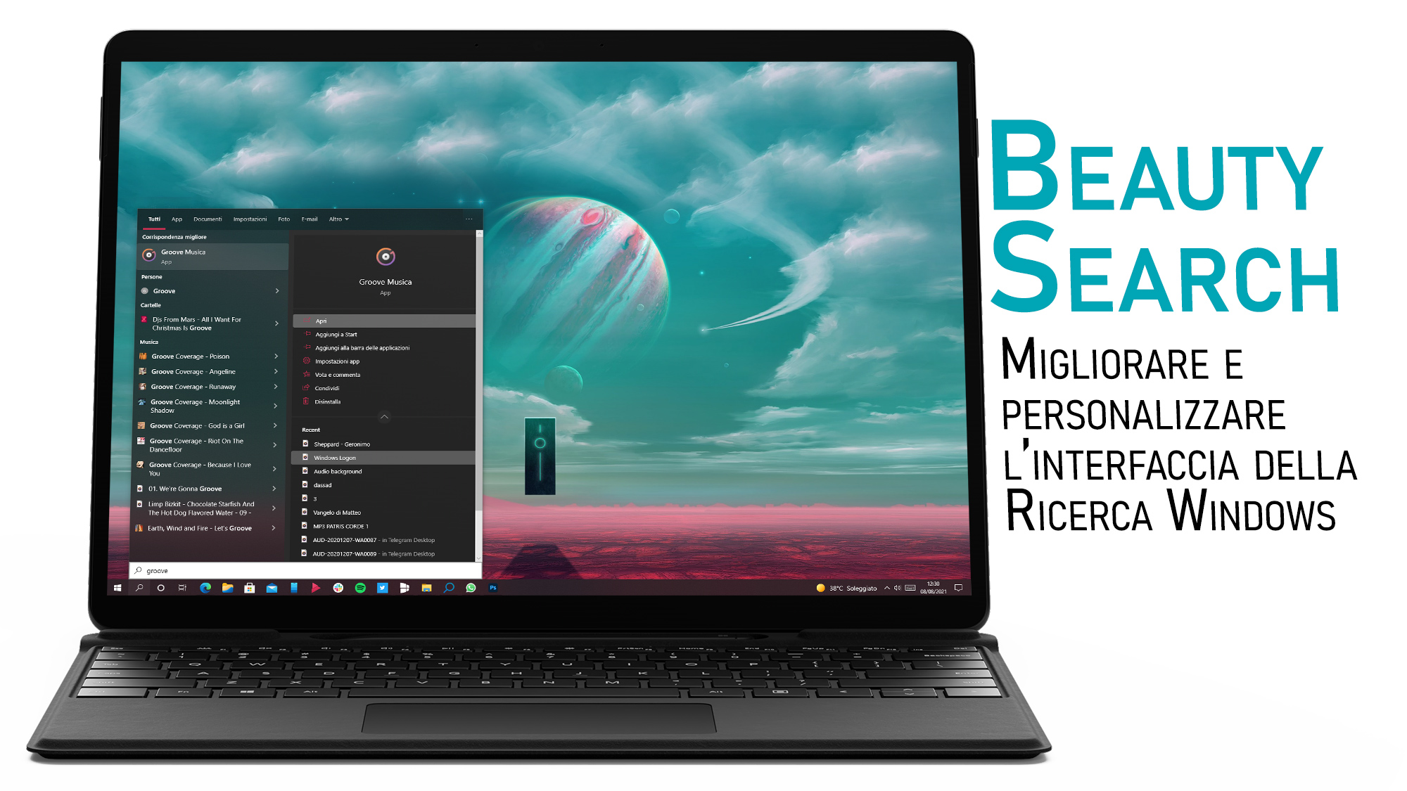 BeautySearch - Come migliorare l'interfaccia grafica della Ricerca Windows