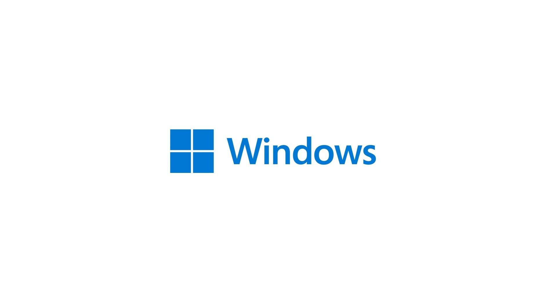 Microsoft Windows 11 - Nuovo logo con quattro quadrati
