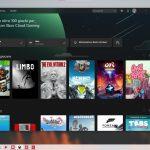 Xbox per Windows - Sezione Giochi nel cloud