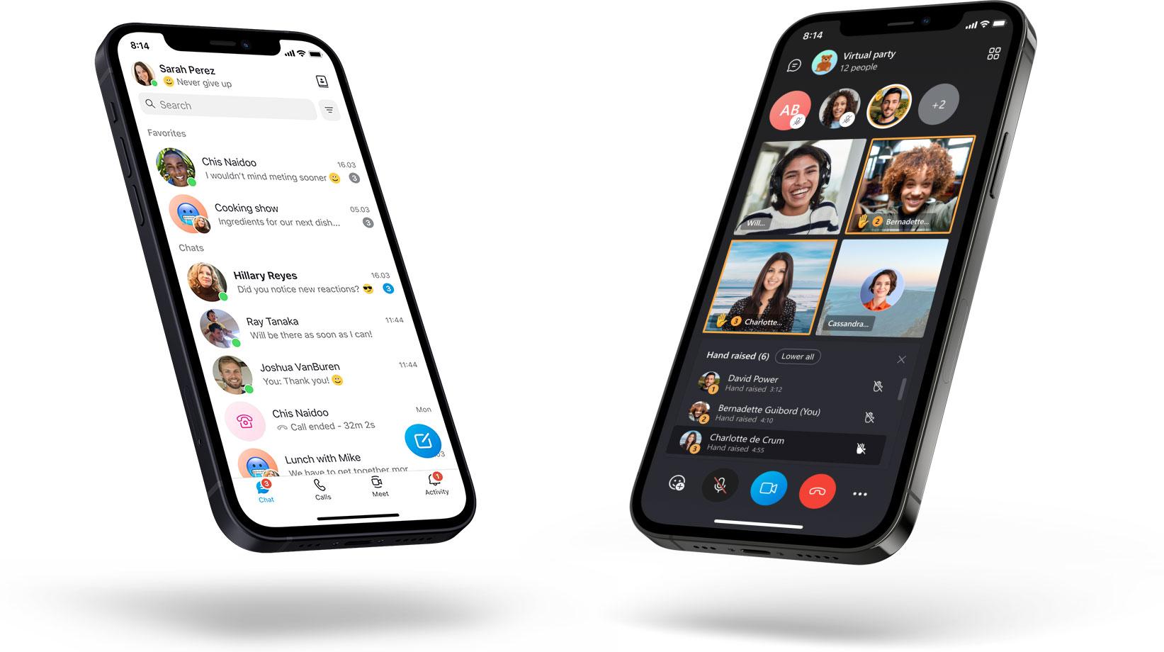 Nuovo Skype per dispositivi mobili