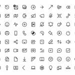 Skype - Icone nello stile del Fluent Design
