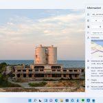 Windows 11 - App Foto - Nuovo pannello Informazioni