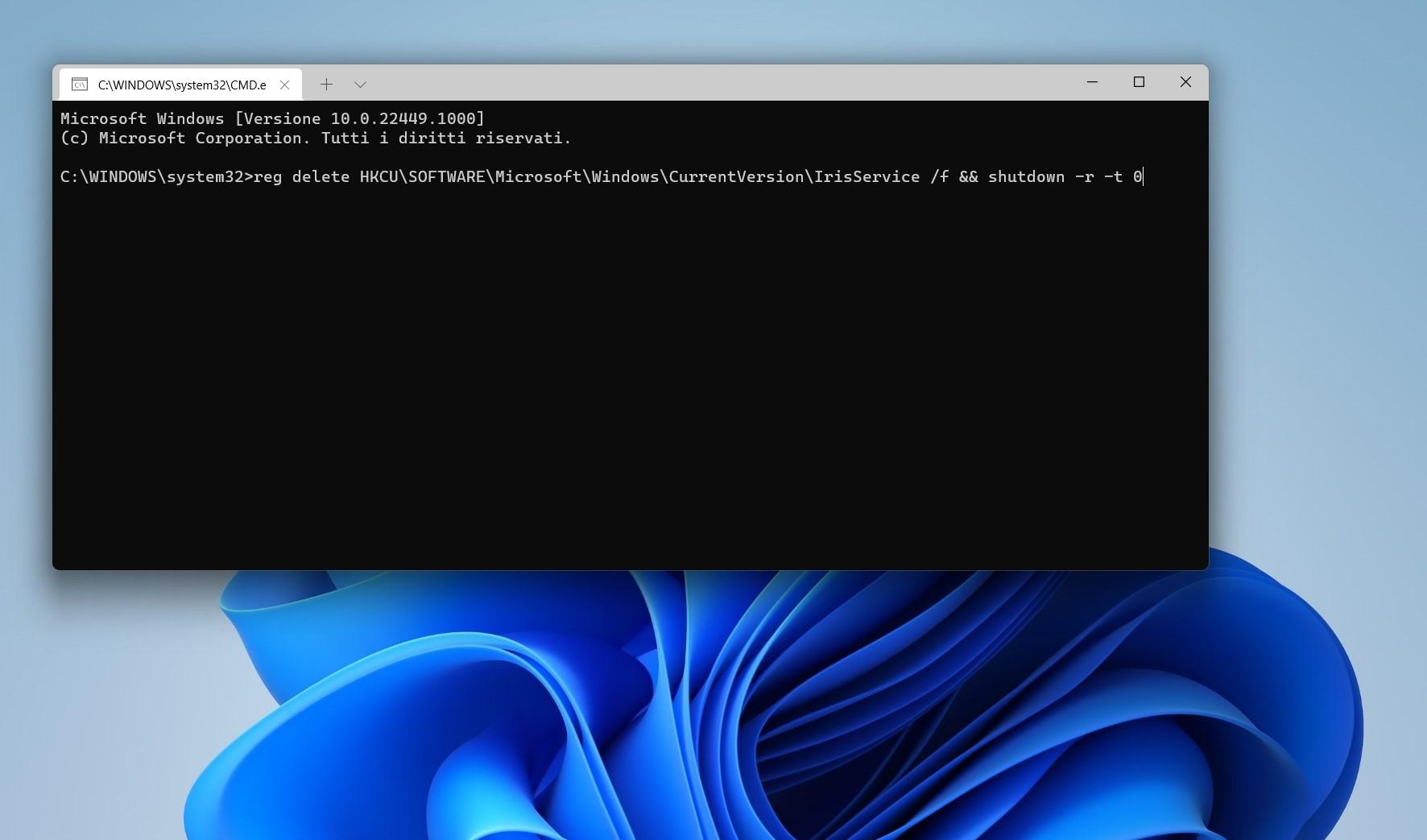 Windows 11 - Fix per menu Start e barra delle applicazioni bloccati