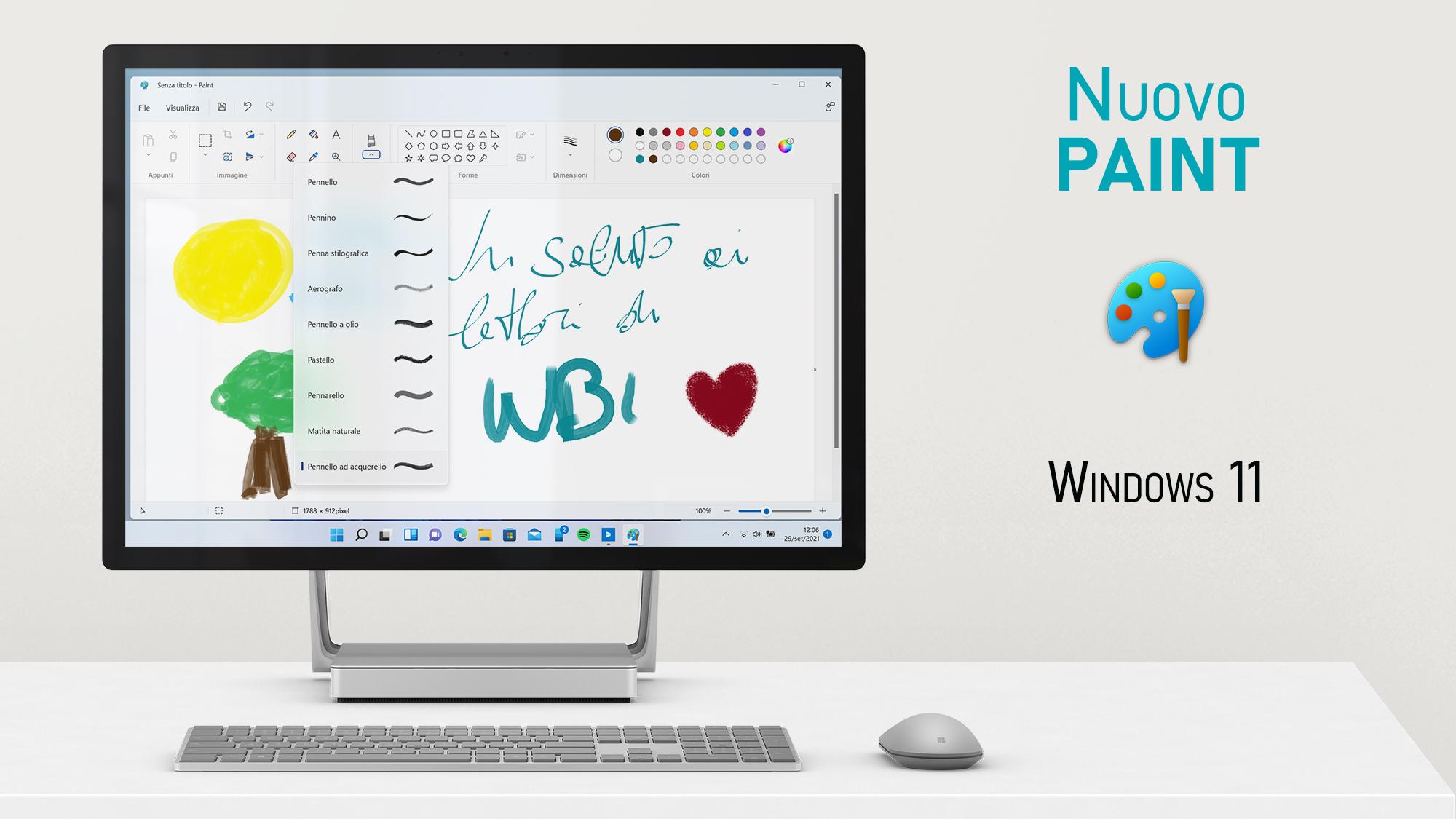 Windows 11 - Nuovo Paint