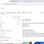 Google Chrome Canary - Menu contestuale con stile di Windows 11