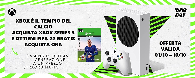 Offerta Xbox Series S + FIFA 22