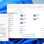 Windows 11 - Esplora file - Impostazioni elementi recenti in Accesso rapido
