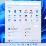 Windows 11 - Menu Start - Sezioni Aggiunto e Articoli consigliati