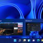 Windows 11 - Visualizzazione attività compatta