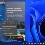 Windows 11 - Widget - Opzioni per le notizie