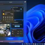Windows 11 - Widget - Spostamento dei widget