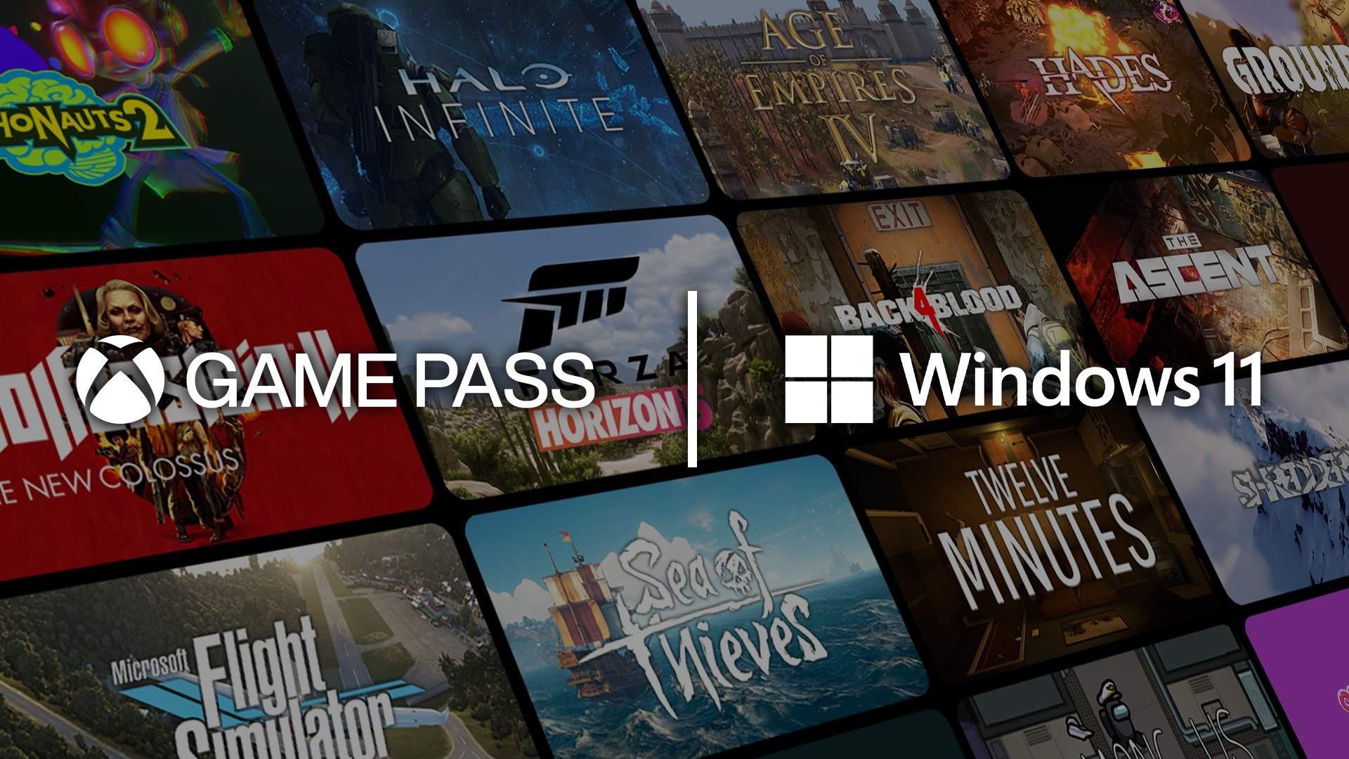 Xbox Game Pass - Windows 11
